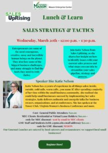Lunch & Learn – Sales Strategy & Tactics from Sales Uprising